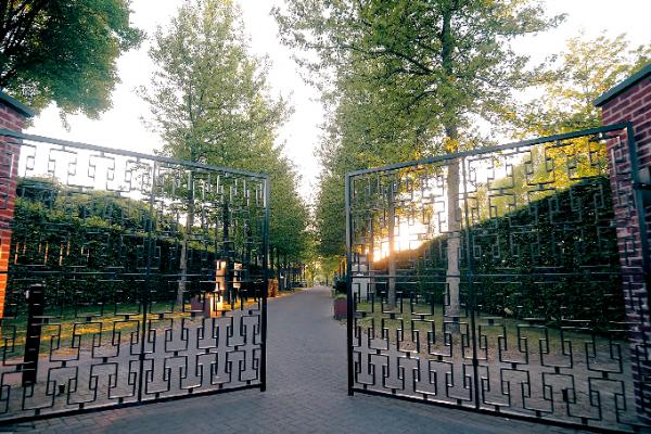 Poort Begraafpark Zuylen