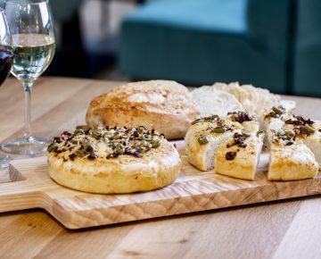 Focaccia-brood & Mosterd/kaasbrood