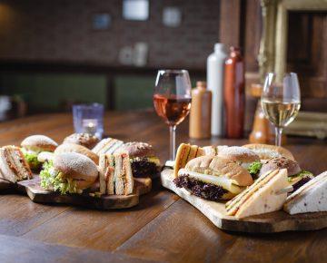 Luxe bol & Sandwiches